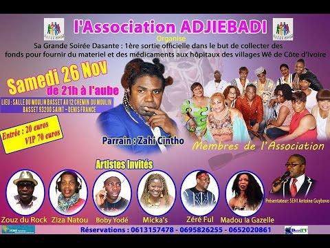 Première Sortie Officielle de l'Association ADJIEBADI à Paris 1ère Partie