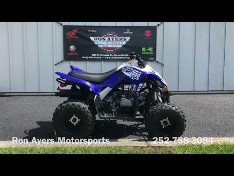 2019 Yamaha Raptor 90 in Greenville, North Carolina - Video 1