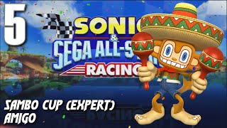 Sonic and Sega All-Stars Racing - Samba Cup (Amigo)