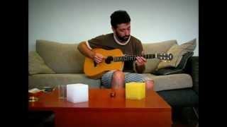 Gaston Falabella - Slow Down Blues - Intro - (Joe Satriani)