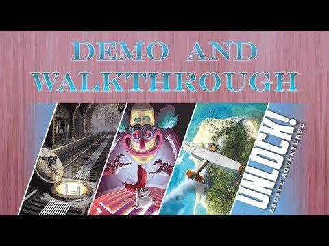 How to Play Unlock - 5th Avenue Demo Walkthrough