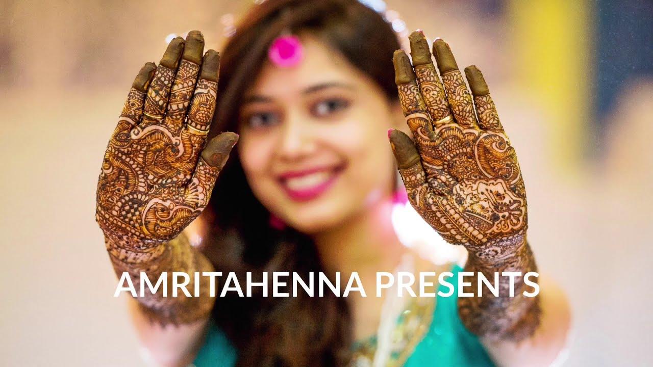 traditional rajasthani mehndi design elephants for bride by amrita henna