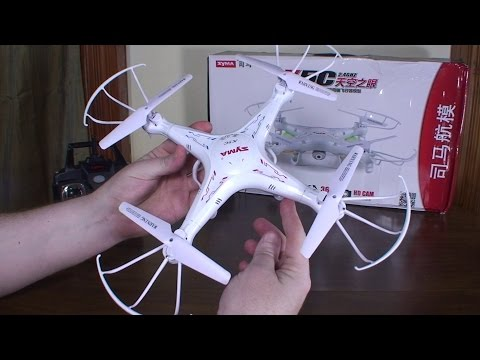 Syma – X5C Explorers – Review and Flight (Indoors and Outdoors)
