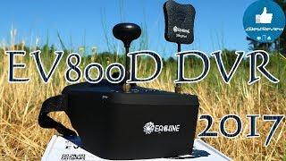 ✔ Лучший FPV Шлем Eachine EV800D! Лето 2017! $87.99 Banggood!