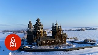 Standing Without Nails: The Churches of Kizhi Island