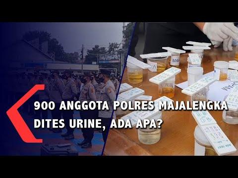 900 Anggota Polres Majalengka Dites Urine, Ada Apa?