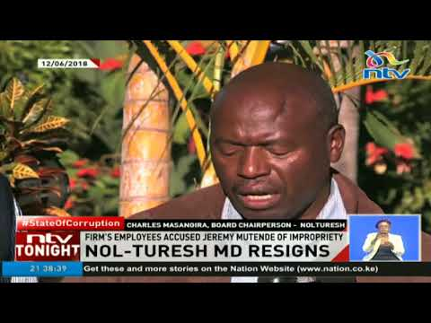 Nol-turesh water company's ex MD accused of mismanagement of Kshs. 60M