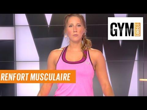 Accepter pour la restitution des muscles