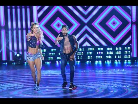 ¡Flor Vigna y Gonzalo Gerber se la jugaron en el duelo del Pop Latino!