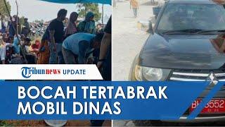 Detik-detik Bocah 2 Tahun Tertabrak Mobil Dinas di Jambi, Kabid DLH Ditetapkan Jadi Tersangka