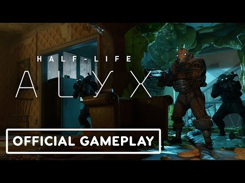 Half-Life: Alyx Gameplay Trailer 3