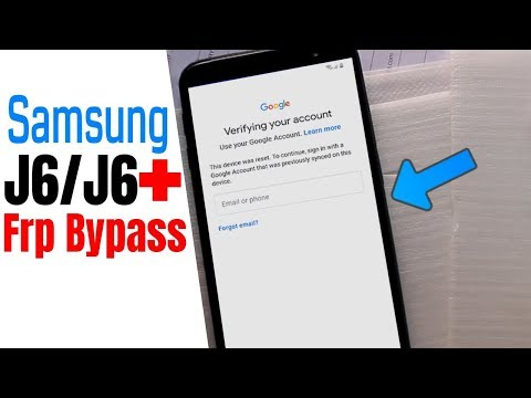 Samsung J6 2018 Frp Unlock/Bypass Google Account L | Youtube