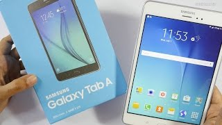 "Samsung Galaxy Tab A - 8"" 4G Tablet Unboxing & Overview"