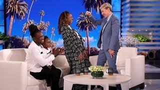 Ellen Helps Self-Affirmation Family's Book Dreams Come True