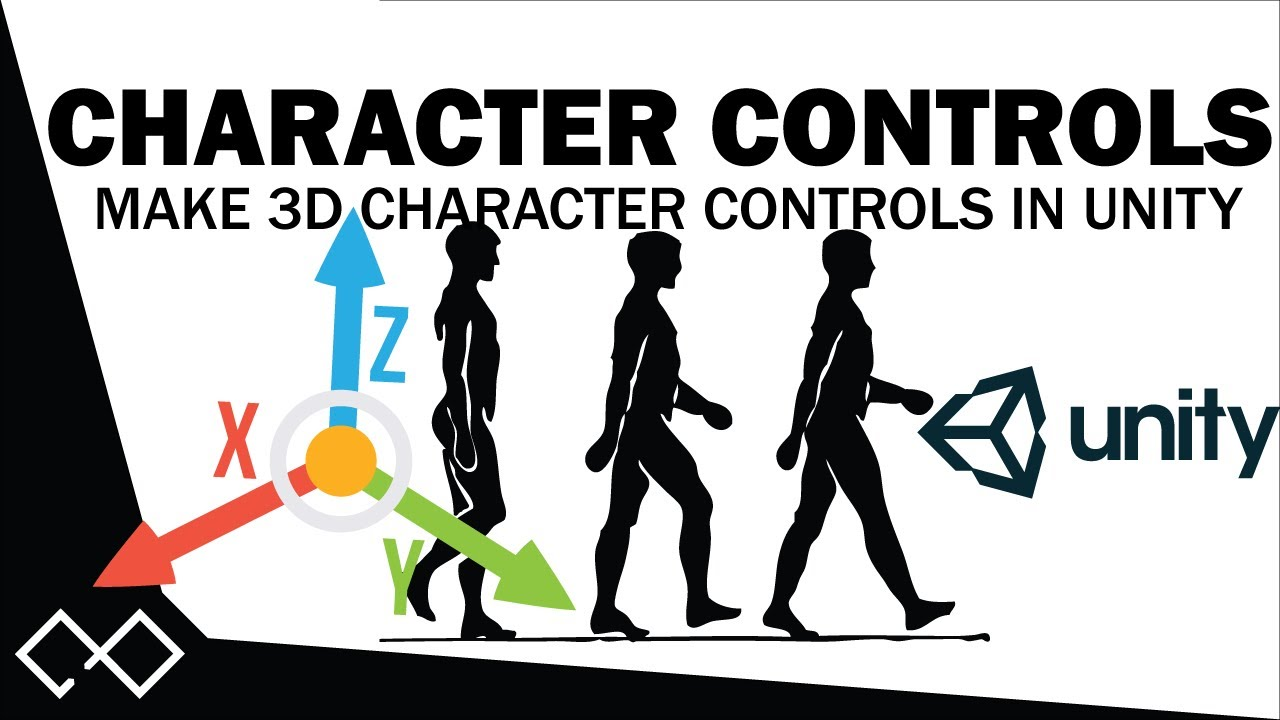 Unity Character Controller Tutorial | How To Make Character Controls in Unity - Move Player in Unity