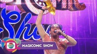 Perdana Buat Indosiar, Aksi Mandi Ebel Suca Di Panggung Magicomic Show