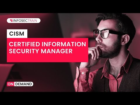 Certified Information Security Manager (CISM) | CISM Training Course