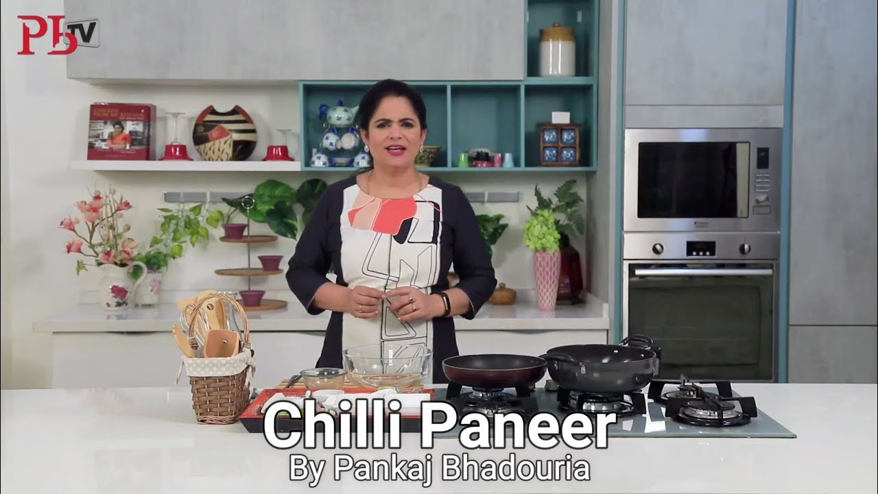 Chilli Paneer Recipe Image