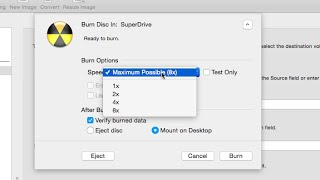 How to set DVD Burn Speeds in Final Cut Pro X 10.2 (HD) - Burning DVDs, Help, Mac OS X