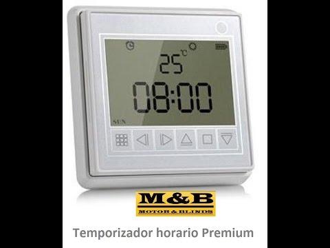 Temporizador horario gama Premium