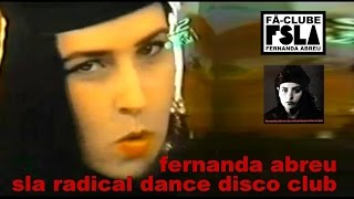 FERNANDA ABREU - SLA RADICAL DANCE DISCO CLUB (VIDEOCLIPE OFICIAL)