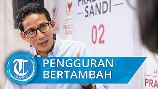 Sebut Angka Pengangguran di Jakarta Naik 6 Bulan Terakhir, Sandiaga Sarankan Program Wirausaha