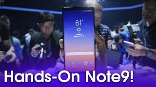 Samsung Galaxy Note 9 Hands-On!