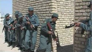 preview picture of video 'German Police Train Afghan Police in Mazar-i-Sharif'