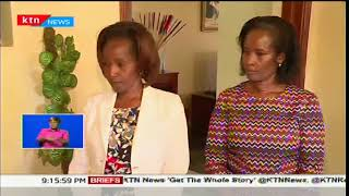 President Uhuru and Margret Kenyatta visit family of the late Nyeri Governor Wahome Gakuru