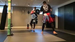 3 Combinaisons low kick - Muay Thaï, Kickboxing