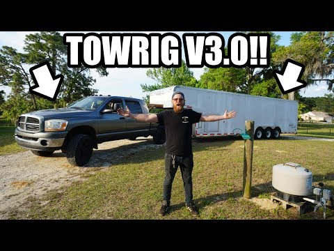 I BOUGHT A NEW TRUCK AND TRAILER!