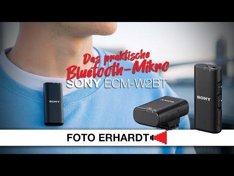 Vorgestellt: Das kabellose Mikrofon Sony ECM-W2BT