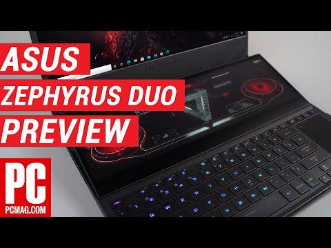 External Review Video 3uW71dZphMo for ASUS ROG Zephyrus Duo 15 SE GX551 Dual-Screen Gaming Laptop (2021)