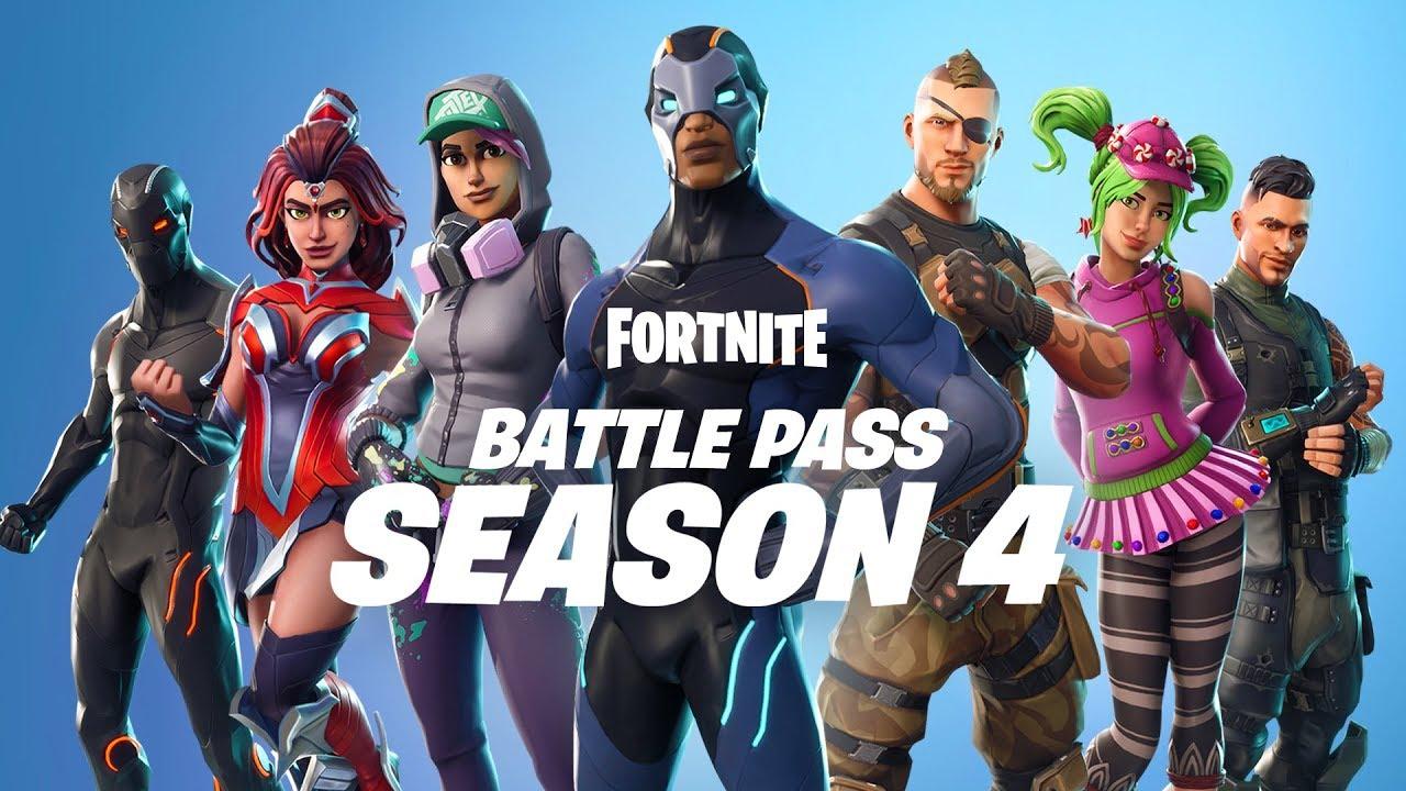 Fortnite Season 4 Battle Pass System Requirements -