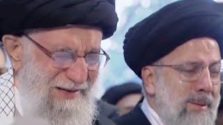 Iran's Supreme Leader weeps at Soleimani's funeral
