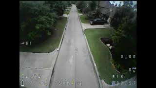 Fpv I got bored and decided to fly the street flyer