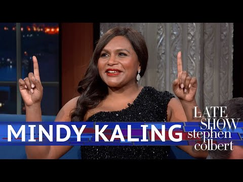 Mindy Kaling Gets Cut Off By Stephen s Apple Watch