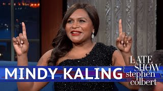 Mindy Kaling Gets Cut Off By Stephens Apple Watch