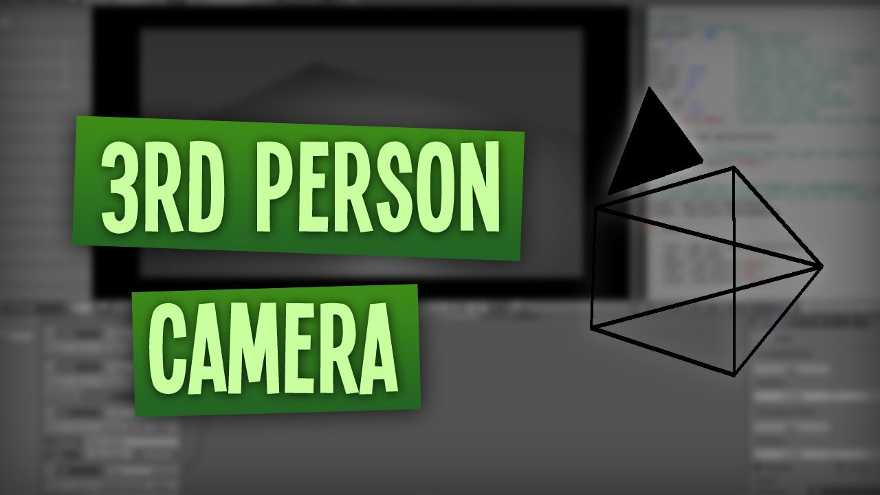 3rd Person Camera | Tutorial Blender Game Engine [DEUTSCH] [HD]