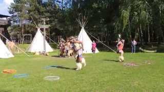 preview picture of video 'Indianerwochenende Templin 2014/3'