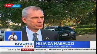 Robert Godec atoa maoni yake kuhusu uamuzi wa Raila Odinga wa kuenda kortini