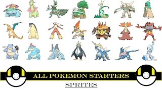 Download Youtube: All Pokemon Starters (Animated Sprites)