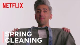 Tan France & Alexa Chung Go Through Old Clothes | Next In Fashion | Netflix
