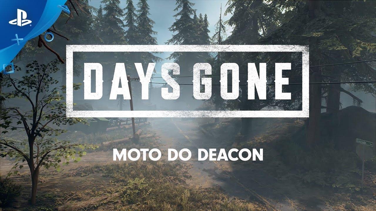 Criando a Moto de Deacon em Days Gone