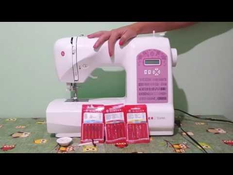 CUCITO FAI DA TE - 3. Come preparare la macchina da cucire