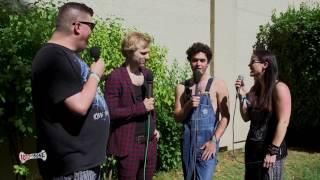Baby Huey and Chasta interview SWMRS - BottleRock 2017 
