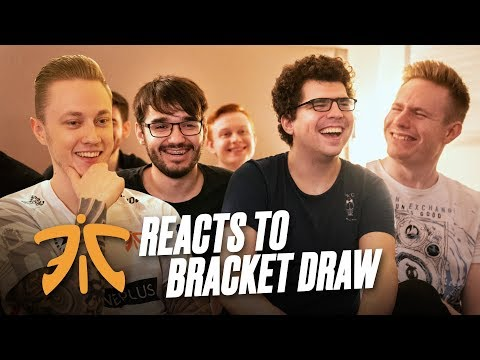 FNATIC Reacts to Bracket Draw   Worlds 2019
