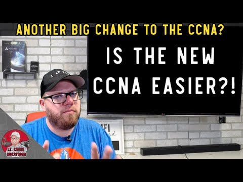 More Big News on the New CCNA! Is the New Exam Easier ...