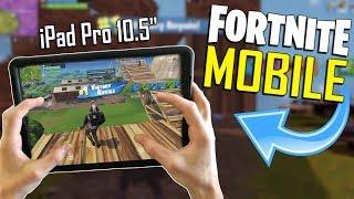 FAST MOBILE BUILDER on iOS / 460+ Wins / Fortnite Mobile + Tips & Tricks!