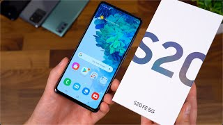 Samsung Galaxy S20 FE Unboxing!